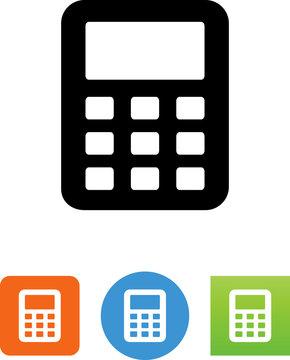 Calculator Icon - Illustration