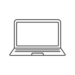 Laptop linear icon