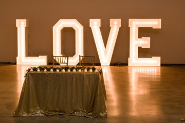 Love Lights Marquee