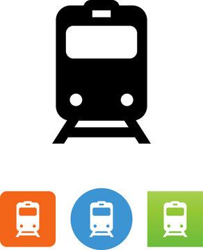 Commuter Train Icon - Illustration