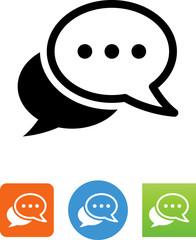 Conversation Icon - Illustration