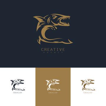 baracuda fish logo