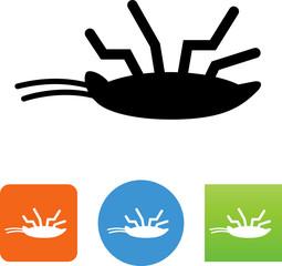 Dead Bug Icon - Illustration