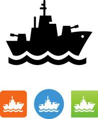 Destroyer Icon - Illustration