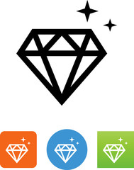 Diamond Icon - Illustration