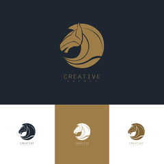 head horse logo