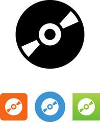 Disk Icon - Illustration