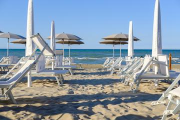 Senigallia beach, Italy.