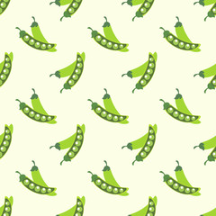 Seamless background image colorful vegetable food ingredient green peas