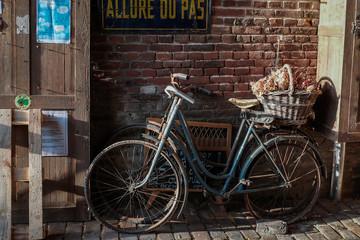 Photo sur Aluminium Vieilles bicyclettes