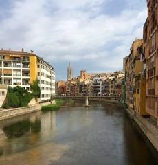 View of Girona, Catalonia, Spain
