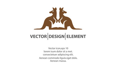 kangaroo icon logo