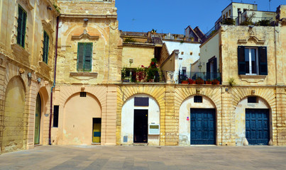 Historic center of Lecce, Italy