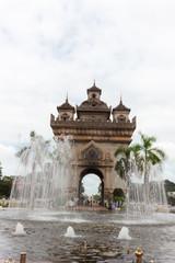 ラオス・ビエンチャン・勝利の門・凱旋門・Patuxay