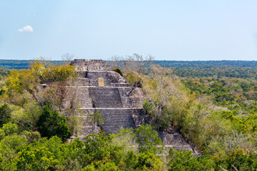 Calakmul, Mexico Pyramid