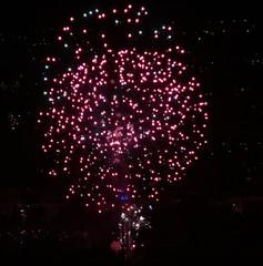 Grenoble fireworks