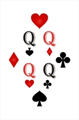 Playing Cards Back Design