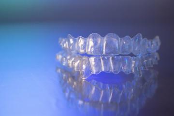 Plastic dental orthodontics