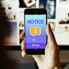Messaging Communication Notification Alert Reminder Concept
