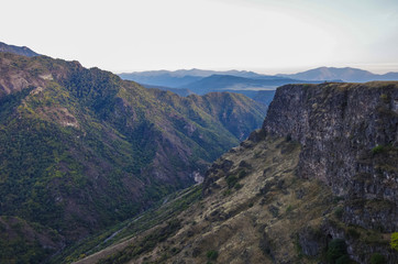 The Debed river canyon, Armenia
