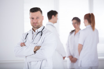 Portrait Of Professional Male Doctor