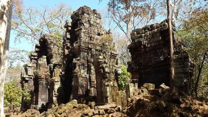 Cambodia . Koh Ker city . Prasat Chrap . Preah Vihear province . Siem Reap city .