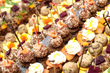 Buffet - canapes