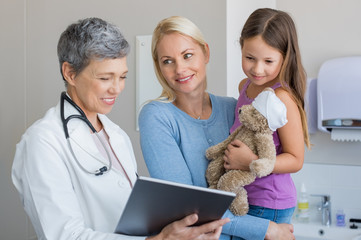 Pediatrician check up