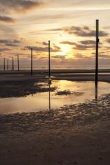 Sonnenuntergang St Peter Ording