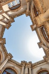 ancient architecture the sky