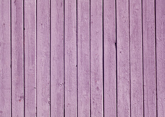 Violet color painted wooden plank pattern.