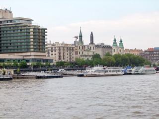 Foto op Plexiglas Panoramafoto s Budapest in Hungary