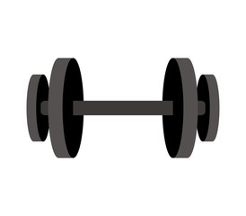 Gym weight icon