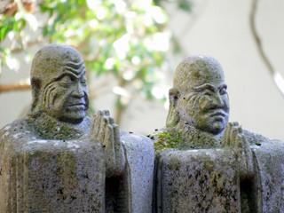 長安寺の羅漢