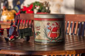 Joyeux Noel boite et décoration