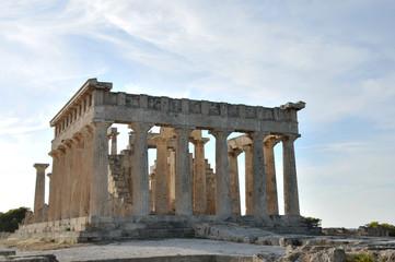 Temple de Aphaia sur l'ile d'Egine