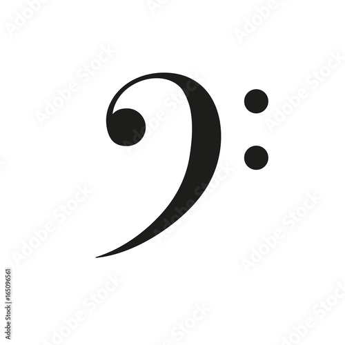 Bass Clef F Key Music Vector Stock Image And Royalty Free Vector