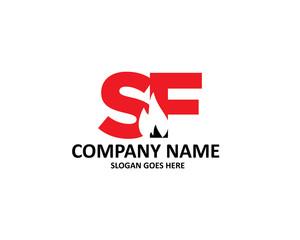 sf letter fuels logo