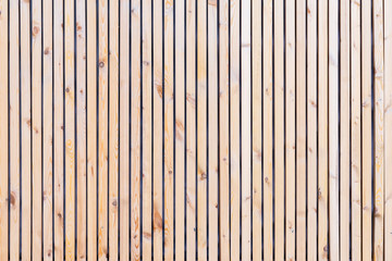 Rustic natural wooden vertical planks with cracks, scratches for natural design, patterns, extured background with space for text.