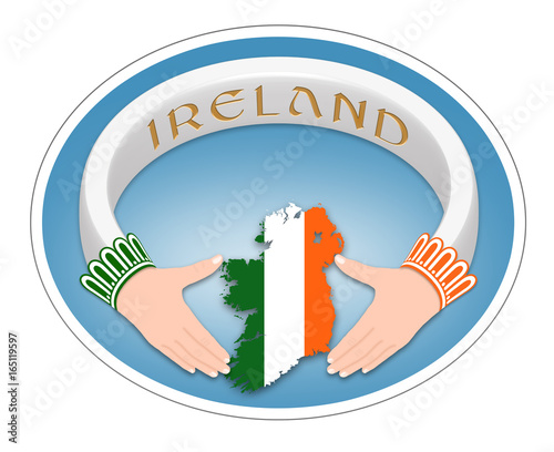 Irish Ring Irish Symbol Claddagh Ring Stock Photo And Royalty