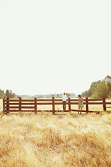 Country Fence Girls
