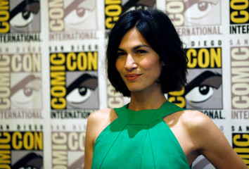"Cast member Yung poses at an event for ""The Defenders"" during the 2017 Comic-Con International Convention in San Diego"
