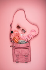 The Contents of a Purse can Reveal a Lot About a Woman