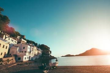 Mediterranean Coastal Village