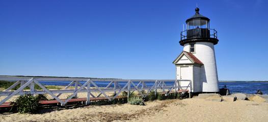Brant Point / Brant Point Light on Nantucket Island, Massachusetts