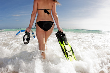 Snorkelling Ready
