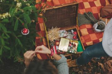 Christmas Tree Decoration Bag