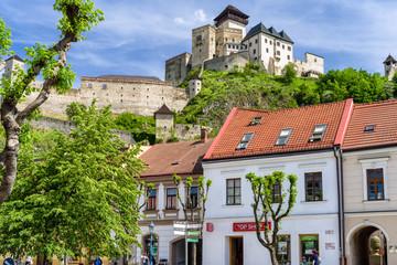 Fotobehang Kasteel Trencin castle, Slovakia