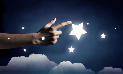 Reach and touch the star