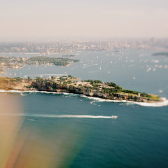 Sydney Harbour Aerial View